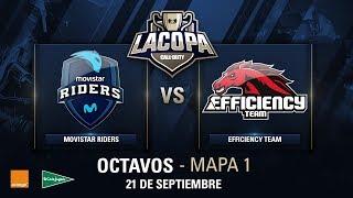 MOVISTAR RIDERS VS EFFICIENCY TEAM - Octavos de Final - Copa CoD - #CoDpaOctavos
