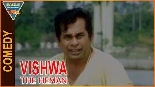 Vishwa the Heman Hindi Dubbed Movie    Brahmanandam Funny Comedy Scene    Eagle Hindi Movies