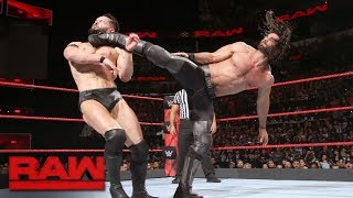 Seth Rollins resurrects a familiar finishing move against Finn Bálor: Raw, Jan. 15, 2018