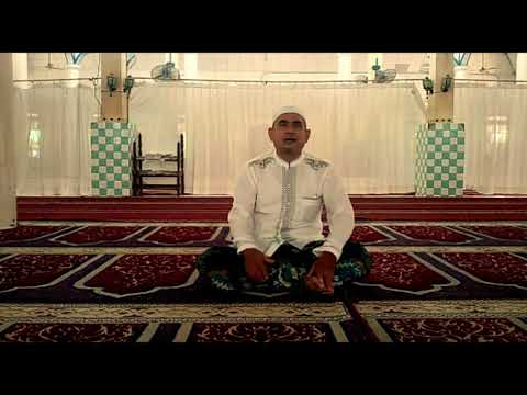 Tarhim subuh merdu oleh H.Normansyah Ali Usman di Mesjid Kanas Banjarmasin