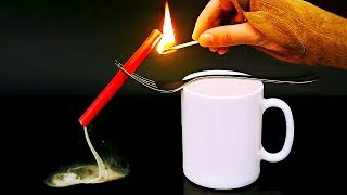 24 COOL TRICKS WITH WATER, FIRE AND SMOKE YOU CAN'T MISS