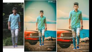 Photo editing in photoshop cs6 photoshop manipulation tutorial in hindi by sachin baghel sb