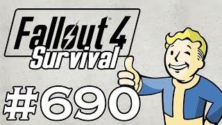 Let's Play Fallout 4 - [SURVIVAL - NO FAST TRAVEL] - Part 690 - Boris