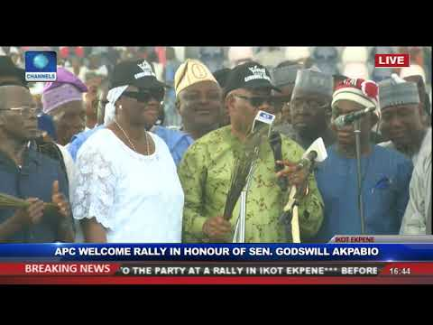APC Organises Rally In Honour Of Sen Godswill Akpabio Pt.18 Live Event