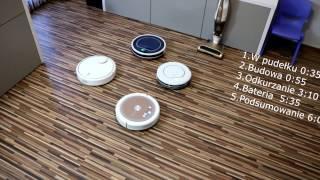 Alfawise A6 Test recenzja taniego robota sprzątającego z Chin.