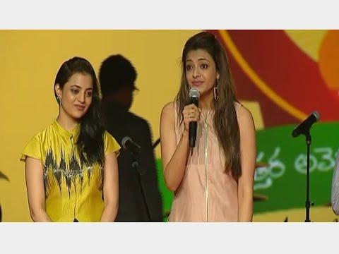 South Indian Actress Kajal Agarwal Fun at NATS 4th Celebrations | Vanitha TV