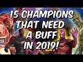 15 Champions That Need A Buff In 2019 - Marvel Contest Of Champions