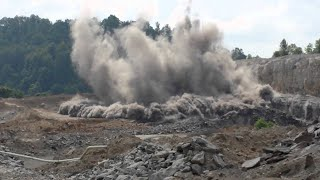 Coal mine blasting of India