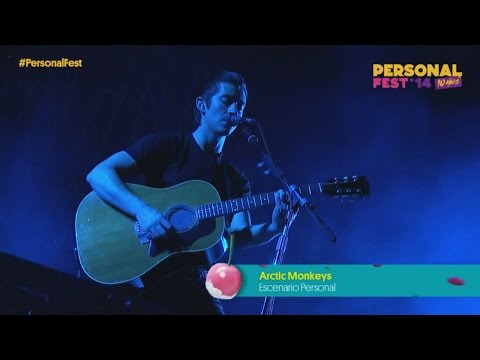 Arctic Monkeys - No. 1 Party Anthem (Live at Personal Fest)
