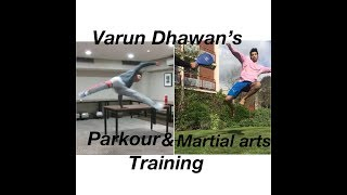 Varun Dhawan Martial arts training for next movie with (Kuldeep Shashi)