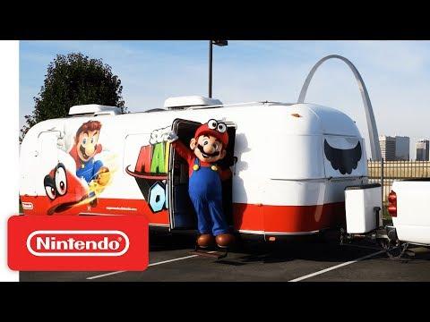Super Mario Odyssey Journey to Launch Nintendo Switch