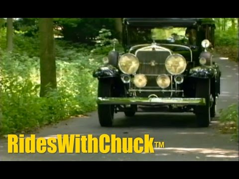 We take a ride in a 1931 V16 Cadillac after a quick look at a Cadillac Ciel