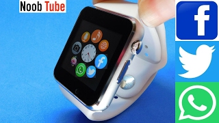 Apple i Watch Clone A1 SmartWatch & Camera Android iphone Smart Phone With Facebook Twitter Whatsapp