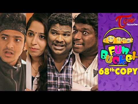 Fun Bucket 68th Copy Funny Videos by Harsha Annavarapu TeluguComedyWebSeries