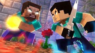 Minecraft : PARAISO Z #18  BATALHA COM HEROBRINE !!!