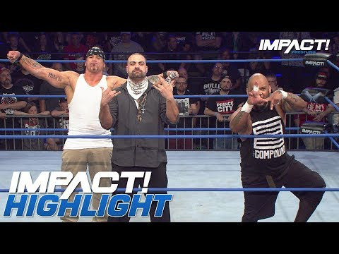 Xxx Mp4 King Issues A Slammiversary Challenge To LAX 5150 STREET FIGHT IMPACT Highlights July 12 2018 3gp Sex