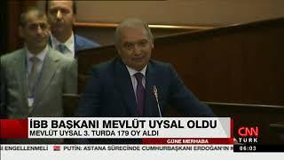 CNNTürk-İBB Başkanı Mevlüt Uysal oldu
