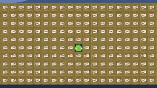 Bad Piggies - REAL 1 PIG VS 1000 TNT! (Field of Dreams)