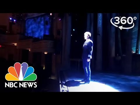 """Xxx Mp4 360 Video On Stage At Broadway's """"Come From Away"""" NBC News 3gp Sex"""