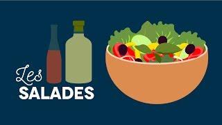 Salades à la carte ! - Les carnets de Julie