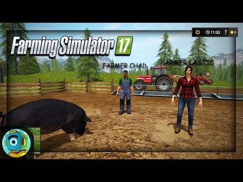 Ryan, Lastic, and Chad Play Farming Simulator 2017! |