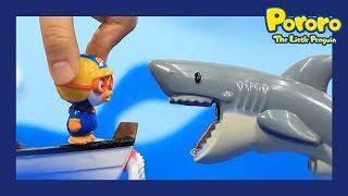 PORORO Toys| 📌Strange games | Pororo's mini world #1 | What's the shark's favorite meat? | Pororo