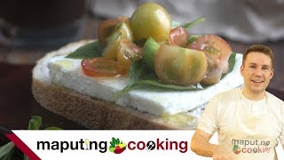 Healthy Filipino Breakfast | Kesong Puti, Kamatis at Tinapay Recipe by Chris Urbano