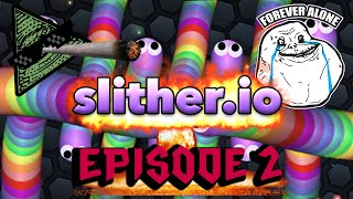 BEST OF SLITHER.IO #2 TRIPLE KILL OMG