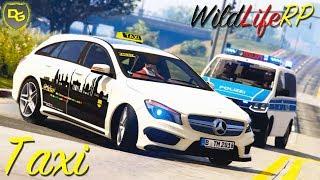TAXI VOLLDAMPF 🚖 - GTA 5 Real Life Online #6 ❗  LIVE vom 05.04.19 ❗ WildLifeRP - Daniel Gaming