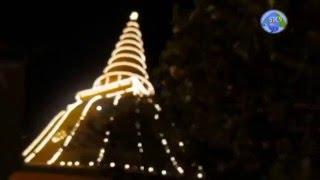 เดินเที่ยวชมองค์พระปฐมเจดีย์ประดับไฟยามค่ำคืน : Big Cetiya ; Thailand ; Nakhon Pathom