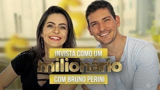Como INVESTIR em AÇÕES como UM MILIONÁRIO - Com Bruno Perini