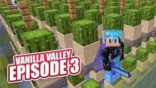 AUTO BONE MEAL / CACTUS FARM | Minecraft Online Survival Timelapse Season 1 Episode 3 | GD Venus |