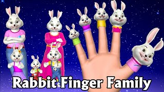 Rabbit and Bugs Finger Family Rhymes | Animals Finger Family song | Nursery Rhymes & Songs