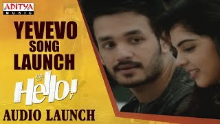 Yevevo Song Launch @ HELLO! Movie Audio Launch | Akhil Akkineni, Kalyani Priyadarshan