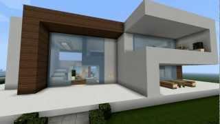 Minecraft Modernes Haus PlayItHub Largest Videos Hub - Minecraft haus bauen mit redstone