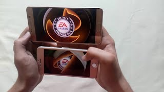 Note 5 vs iPhone 6 Intense HD Gaming Speed test●FIFA 16 ●MC5 ●NFS ●BIA 3