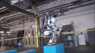 Robots Can Weight lift, Back flip And Dance