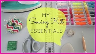 {Step-by-Step Sewing} My 10 Sewing Kit Essentials