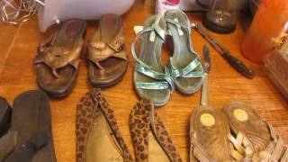 WELL WORN WOMEN'S SMELLY SHOES FROM EBAY