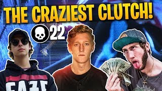 CARRYING FAZE BANKS & CIZZORZ! 22 Kill Gameplay (Fortnite Battle Royale)