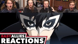 Persona 5 Comes to Smash Bros. Announcement - Easy Allies Reactions