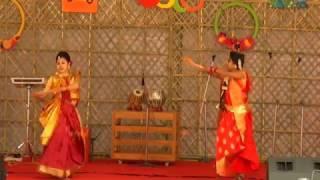 O Dhan Vani Re Dhekite Par Diya Dance Performance by Sumi and Etu at BUP's Borsho Boron - 1424.