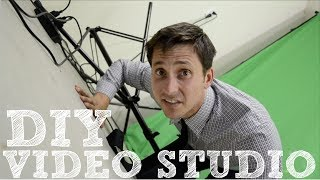 DIY Video Studio - How to Set Up Your Home Film Studio