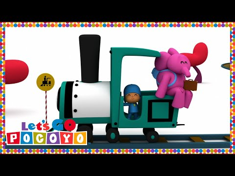 Let s Go Pocoyo Travel with Pato Episode 10 in HD