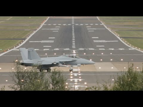 Boeing F/A 18 Super Hornet Low Tactical  Takeоff