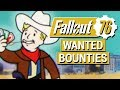FALLOUT 76: Wanted BOUNTY System, VATS, and Nukes in Fallout 76!! (Multiplayer PvP Details)