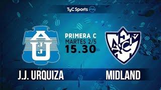 Primera C: J.J. Urquiza vs. Midland | #PrimeraCenTyC