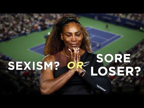 Serena Williams Victim of Sexism or Sore Loser
