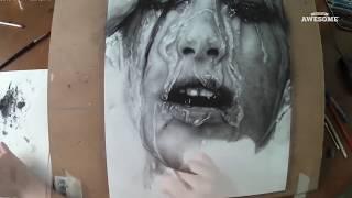 Hyperrealistic Portrait Drawing