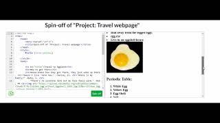 Art Show 2018 - HTML/CSS Travel Webpage